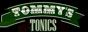 Tommy's Tonics Logo